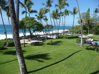 Beach and grounds viewed from our lanai