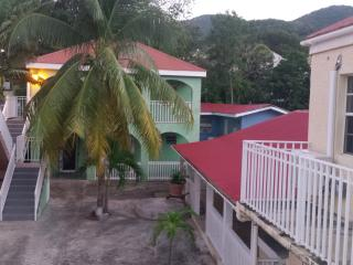 Charming courtyard in  historic district of Christ, Christiansted