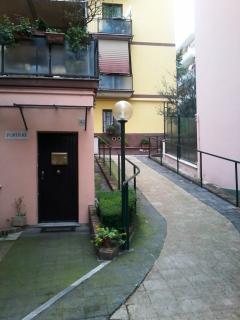 accesso esterno appartamento