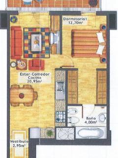 Plano apartamento