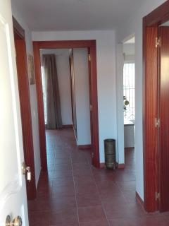 Recibidor de la entrada del apartamento.