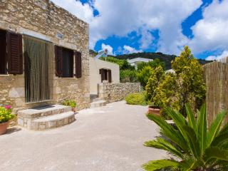Stone House in Village with large Garden, Platanias
