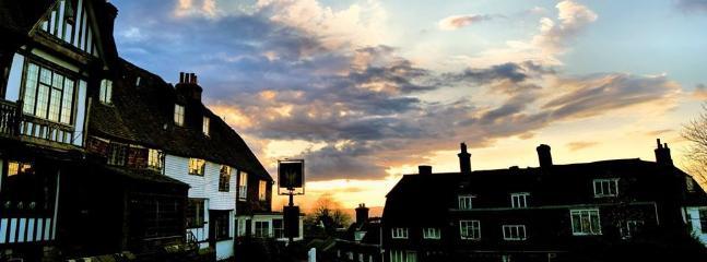 Goudhurst Village at sunset
