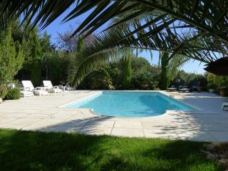 Family Villa with private pool on edge of village, St Genies de Fontedit