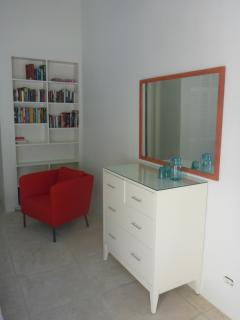 4th bedroom with reading area