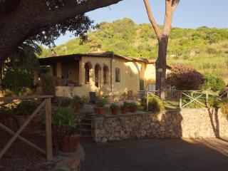 Mediterranean countryside villa with sea view