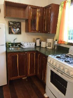 Fully outfitted kitchens for those who wish to cook for themselves here.