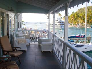 Waterfront location with stunning view...St. Lucia, Baie de Marigot