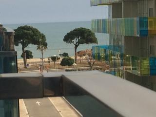 Zona tranquila a pocos metros de la playa