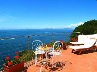 Villa with amazing sea view in Sorrento Coast