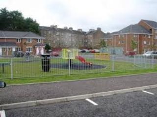 Small play park to the rear of the complex