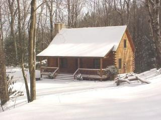 Log Cabin on Grandfather Mountain, Banner Elk