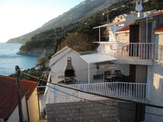 House with spacious terrace and outdoor barbecue 80 m from beach