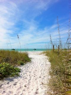 Sugary-Soft Award Winning White Sand Path to Beach