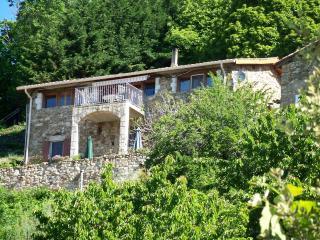 Vakantiehuis Gites Les Veinards met 3 appartementen en schitterend uitzicht, Vals-les-Bains