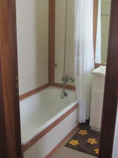 Casa de Banho com banheira.