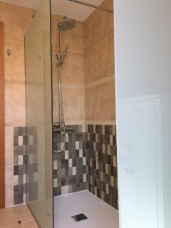 Bathroom with shower,New March 2016