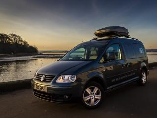 Adventure Wagons VW Caddy Camper Van Hire
