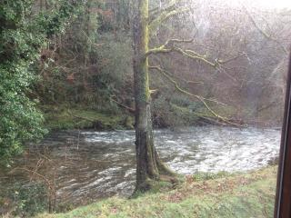 Mole End. In Devon's National park. A sheltered riverside lodge on Dartmoor.