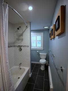 Main floor full bathroom (renovated Fall 2015)