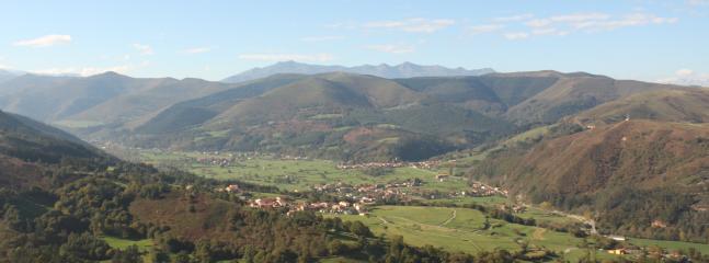 valle de cabuerniga,desde Barcenillas