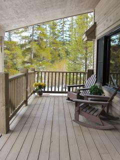 Enjoy Your Coffee on the Front Porch, and Enjoy the Calming Sounds of our Creek