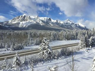 Spectacular view, amazing stay!, Canmore