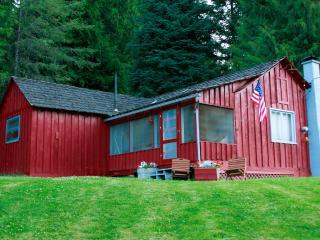 Lewis & Clark Trail Cabin @ Syringa, Kooskia