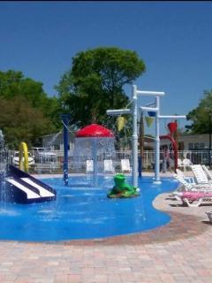 Kiddy splash zone