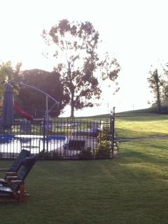 Watch the kids from your outdoor setting whilst the play in the pool.