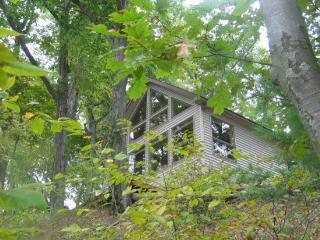 Gebhard Chalet - Cozy cottage in the woods with private beach!