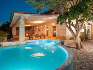 Villa Gracia Grande with sea water pool, at the beach in Orebic - Peljesac
