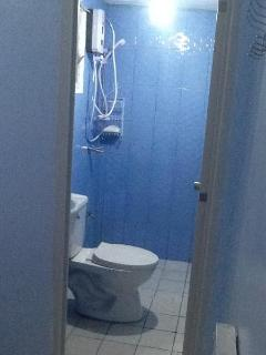 Private onsuite with hot shower and toilet