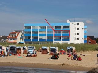 Schöne Ferienwohnung direkt am Strand mit Seeblick