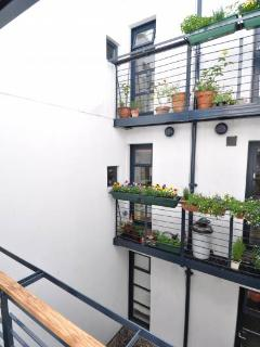 Small kitchen balcony