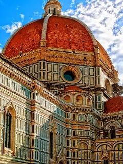 Brunelleschi's Cupola, 5 minutes by walk from La Loggia