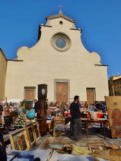 Santo Spirito's church, 15 minutes by walk from La Loggia