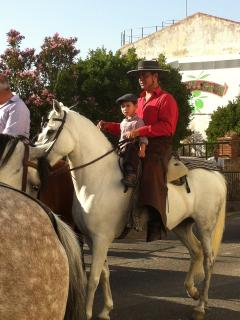 Fiesta time in nearby Priego de Cordoba