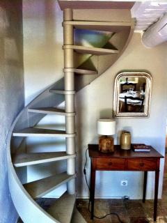 Spiral Staircase To Third Bedroom