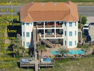 Save $2000 on any open week! Island Drive 3682 Oceanfront! | Private Heated, North Topsail Beach