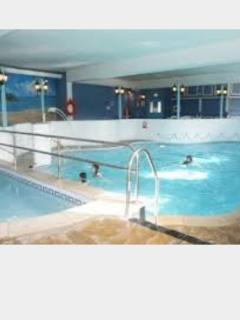 Lovely heated indoor pool & sauna area with poolside café.