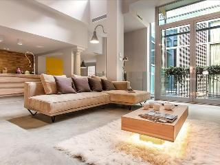 Elegant and luxury loft-style apartment