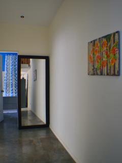 Hallway to the bathroom.