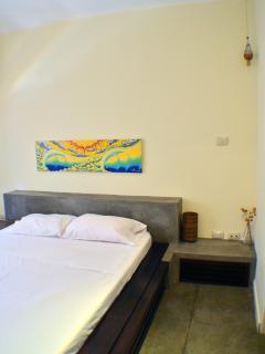 Bedroom #1 - queen-sized tempurpedic mattress.