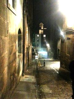 Old Fishmarket Close from Royal Mile