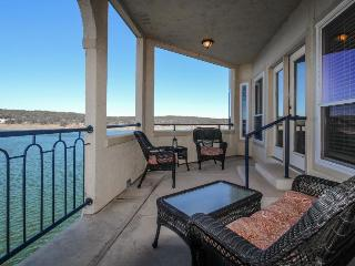 Dog-friendly lakefront condo w/shared hot tub & pool plus lake access!