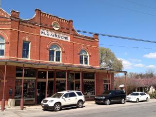 Gruene founded by Henry D. Gruene, 1878.