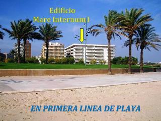 APARTAMENTO 1ª LINEA DE PLAYA, 2 DORMITORIOS., La Pineda