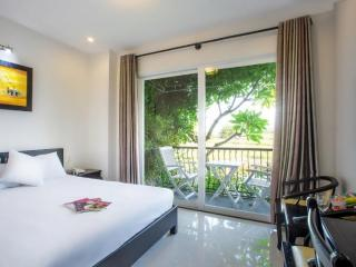 Enjoy life at its finest with 20 Sqm ,1 Double Beds with River view and private balcony.