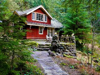 Gorgeous riverfront mountain home!, Rhododendron